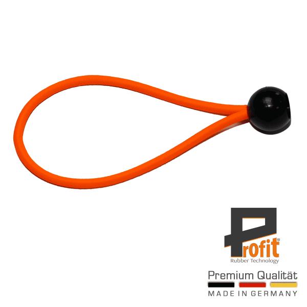 Expander lus neon oranje 180mm spanrubber neonrubber tentrubber neon oranje winstrubber technologie