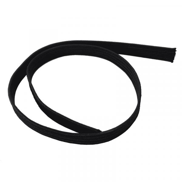 Platte rubberen band   Lint   Rubber   Lint rubber   Rubber platte tape   Per meter   Elastiekje  