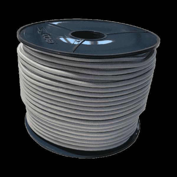 Expander touw | Ecoflex | 6 mm | wit | Vliegtuig touw | Vliegtuig touwen | Expander touwen | Rubberen koord | Rubberen touw |