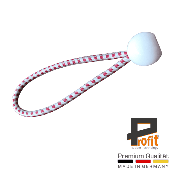 Expander rubber met bal wit 250mm | Expander Sling | Austria Edition | Expander Slings | Profit Rubber Technologie