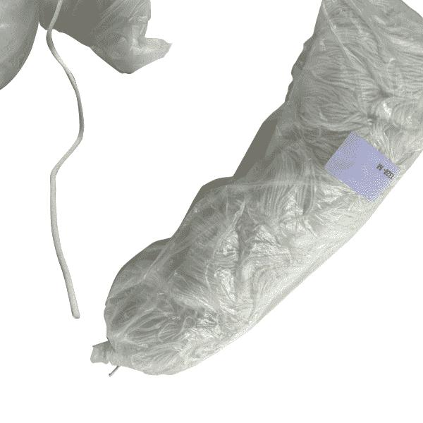 Masker rubber rond nylon-elastaan 3mm wit voor ademmaskers 1776 meter