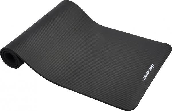 Fitnessmat | zwart | 182 x 61cm | schuim |