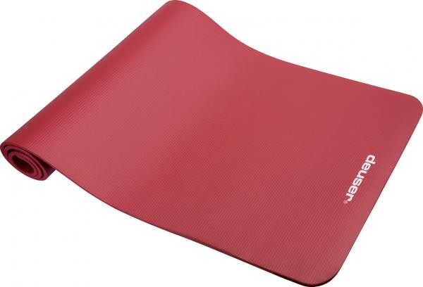 Fitnessmat | rood | 182 x 61cm | schuim |