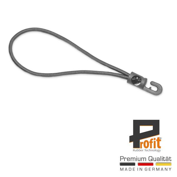 Expander loop grijs 180mm | grijze haak | spanningslus | expander | spanningsrubber | dekzeilrubber | Spannfix