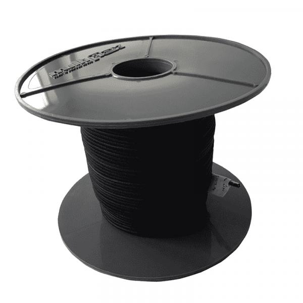 Expanderseil 2mm schwarz | Expander | Gummiseil | Gummischnüre | Profit | Multiflex | Planenseil |