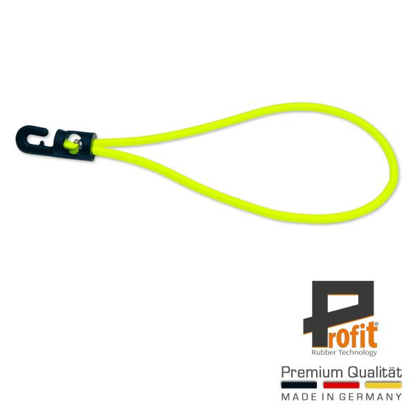 Spannfix | Expander loop | Expander rubber |180mm | Neon geel | Zeildoek rubber Neon geel | Expander lussen |