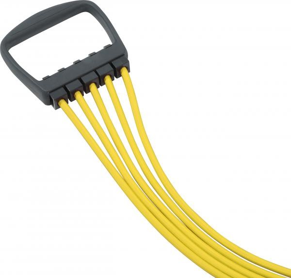 Expander | Yellow | 5 String | 10 - 50 kg | Fitness | Sport |